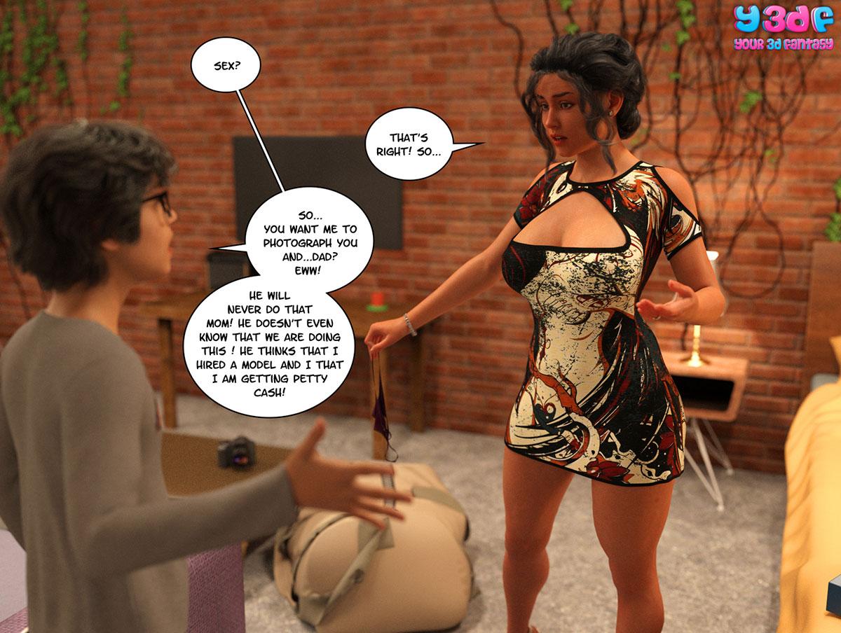 "Y3DF comic ""TrophyMom 2"" - page 6"
