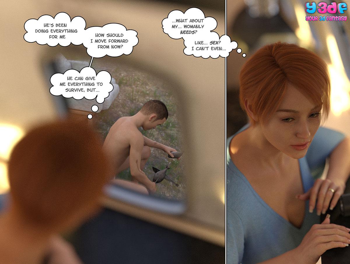 """Y3DF comic """"Hope"""" - page 16"""