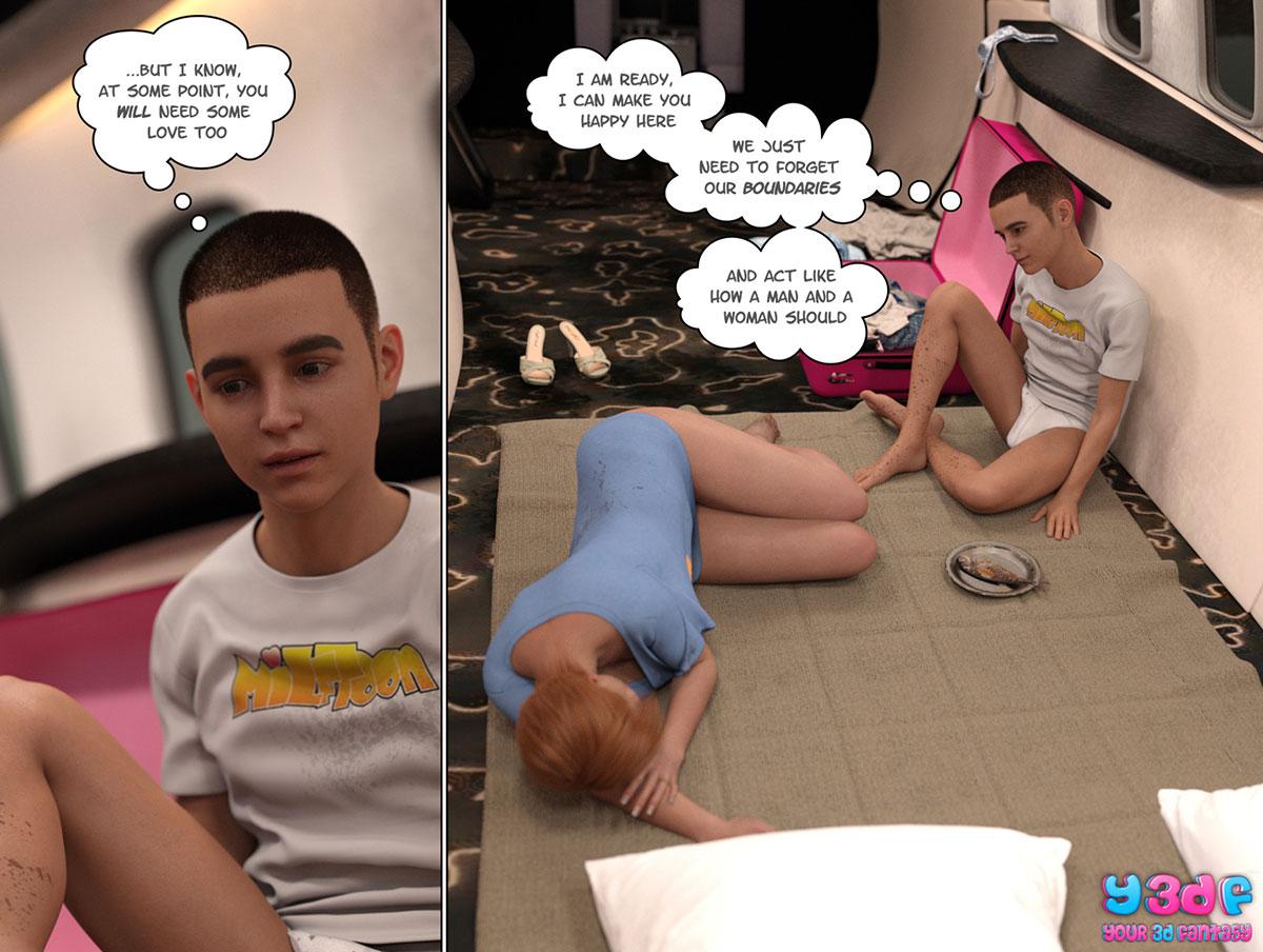 """Y3DF comic """"Hope"""" - page 21"""