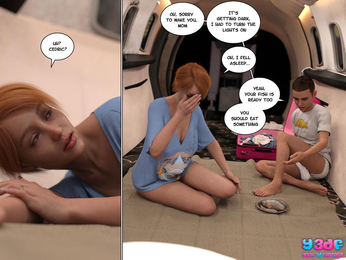 """Y3DF comic """"Hope"""" - page 22"""
