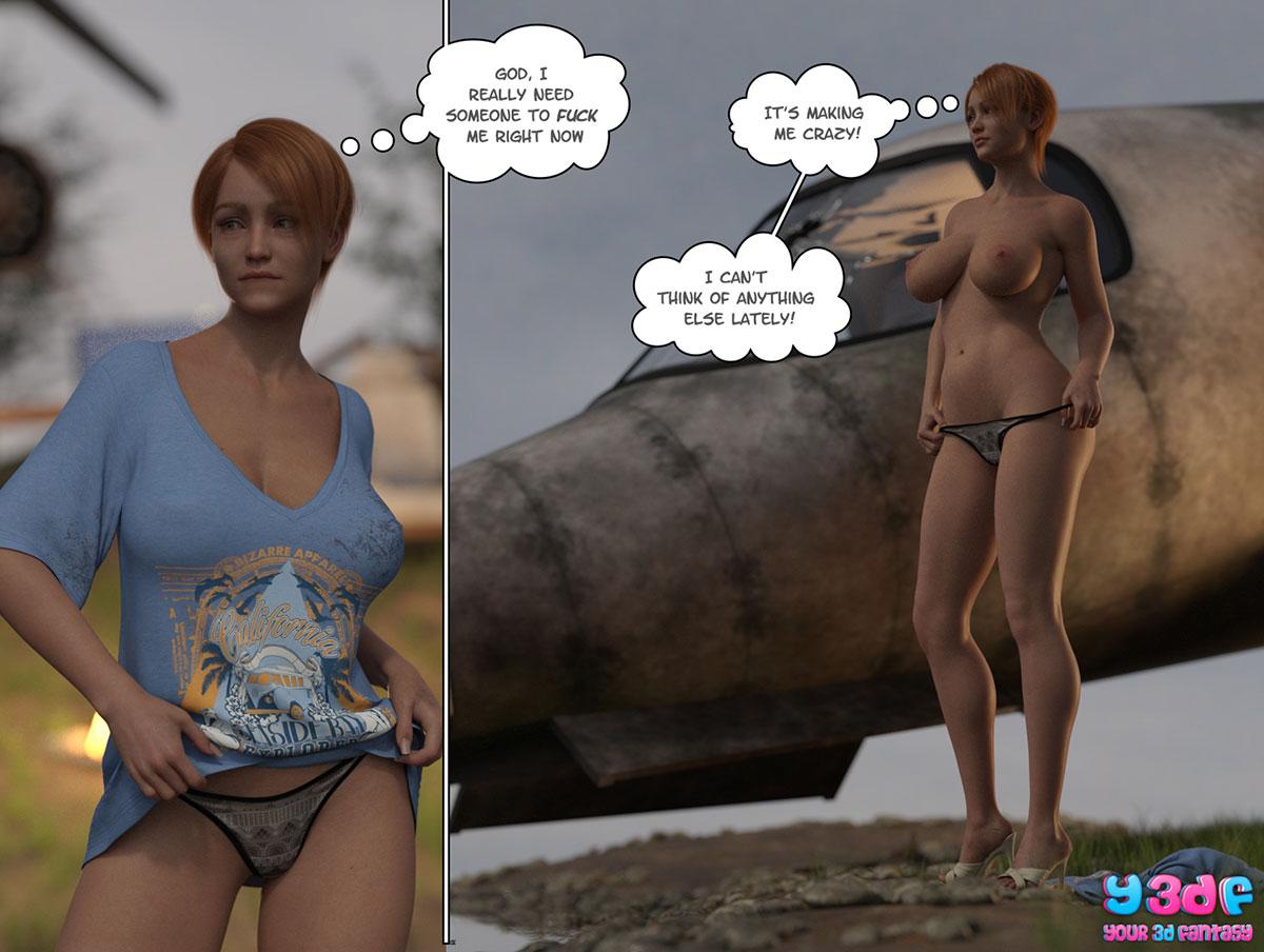 """Y3DF comic """"Hope"""" - page 28"""