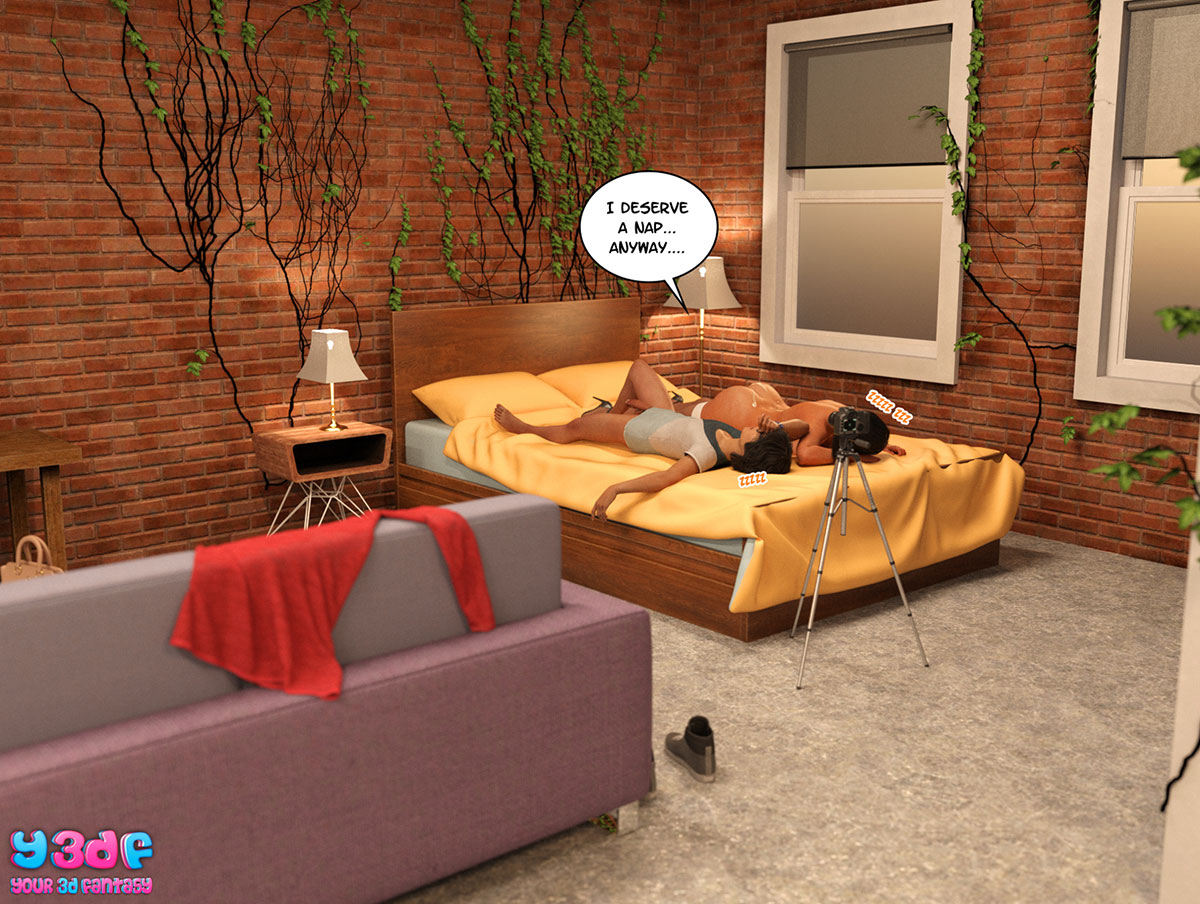 "Y3DF comic ""TrophyMom 3"" - page 52"