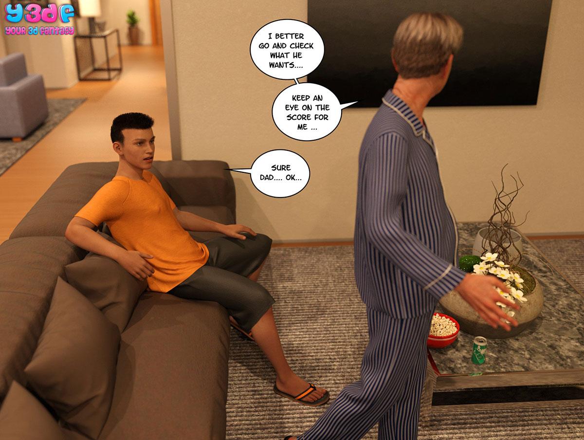 "Y3DF comic ""TrophyMom 3"" - page 62"