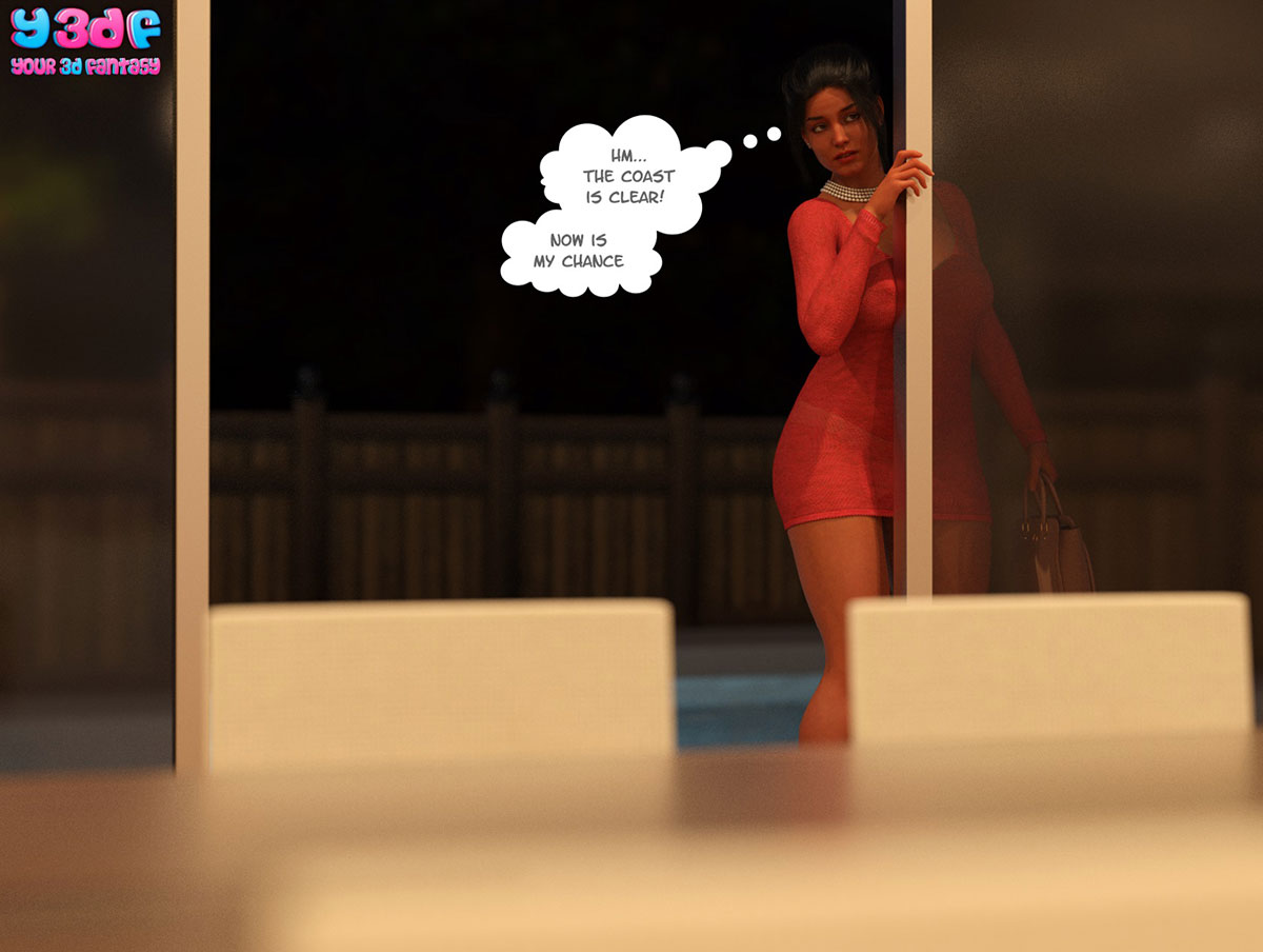 "Y3DF comic ""TrophyMom 3"" - page 63"