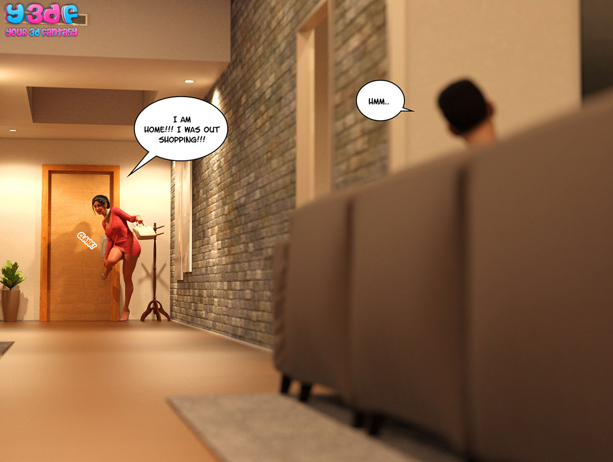 "Y3DF comic ""TrophyMom 3"" - page 66"
