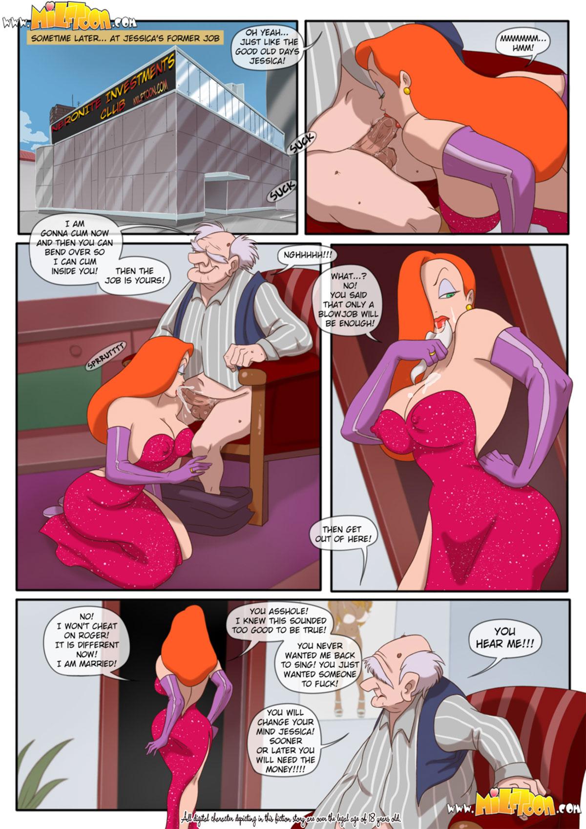 "Milftoon comic ""Jessica Rabtits"" - page 2"