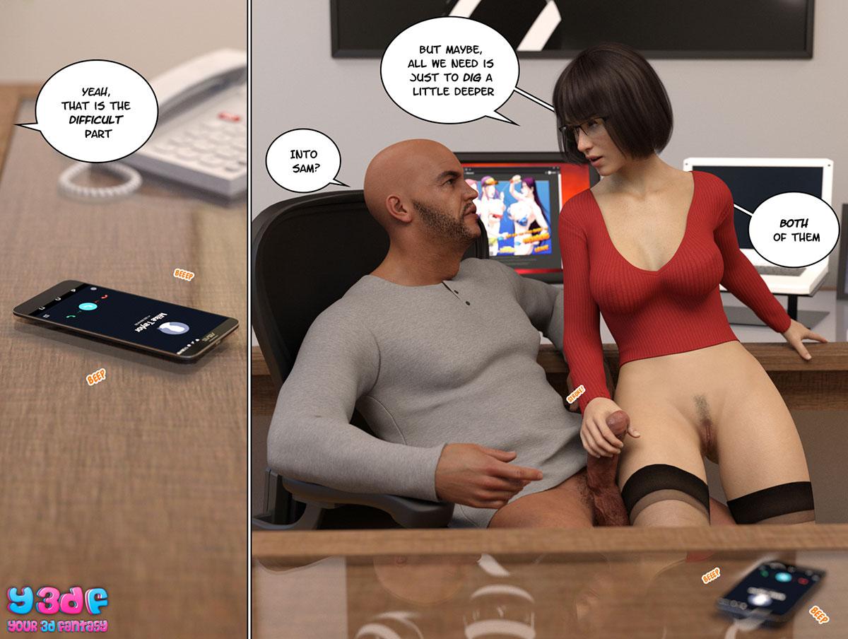 """Y3DF comic """"Circle 8"""" - page 54"""