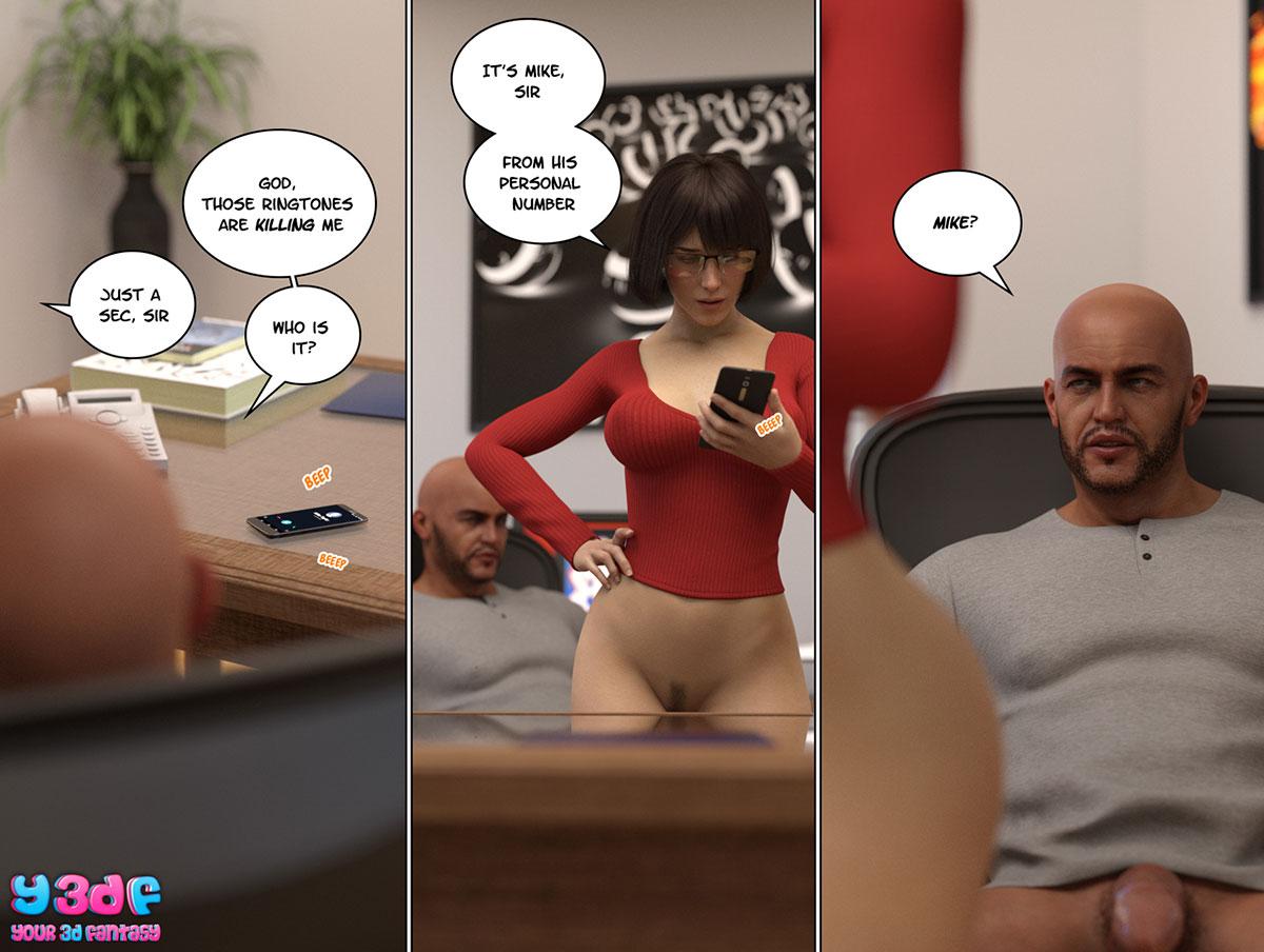 """Y3DF comic """"Circle 8"""" - page 55"""