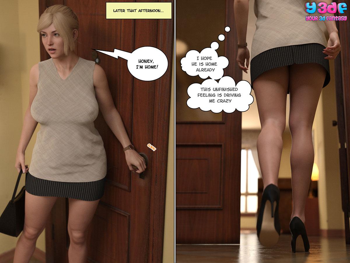 """Y3DF comic """"Circle 8"""" - page 9"""