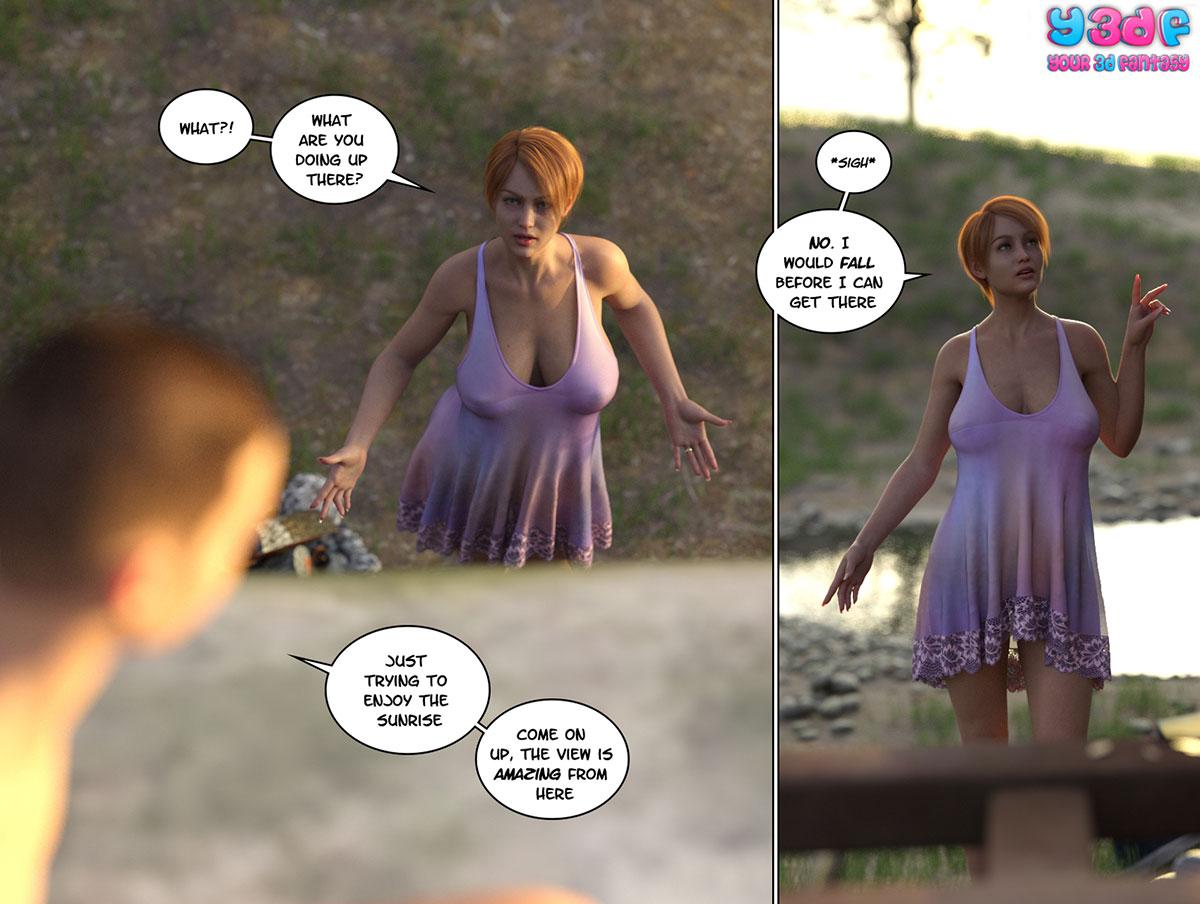 """Y3DF comic """"Hope 2"""" - page 2"""