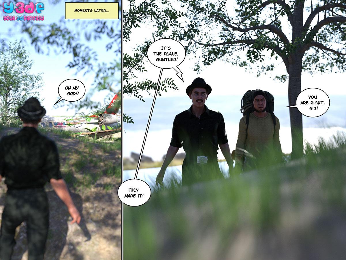 """Y3DF comic """"Hope 2"""" - page 75"""