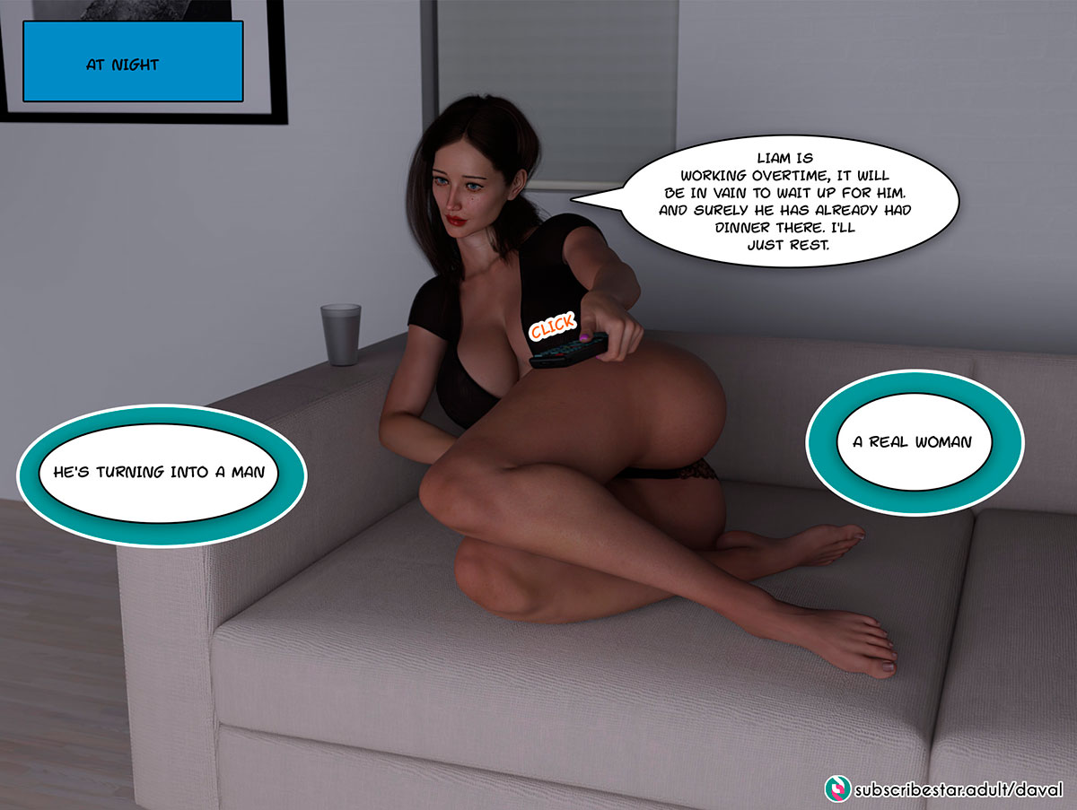 """Daval3D comic """"Satisfying Needs"""" - page 15"""