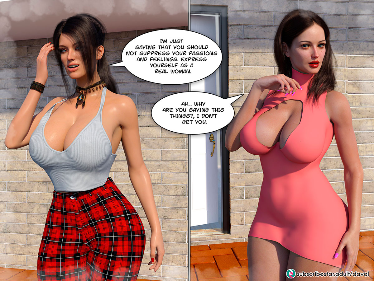 """Daval3D comic """"Satisfying Needs"""" - page 21"""