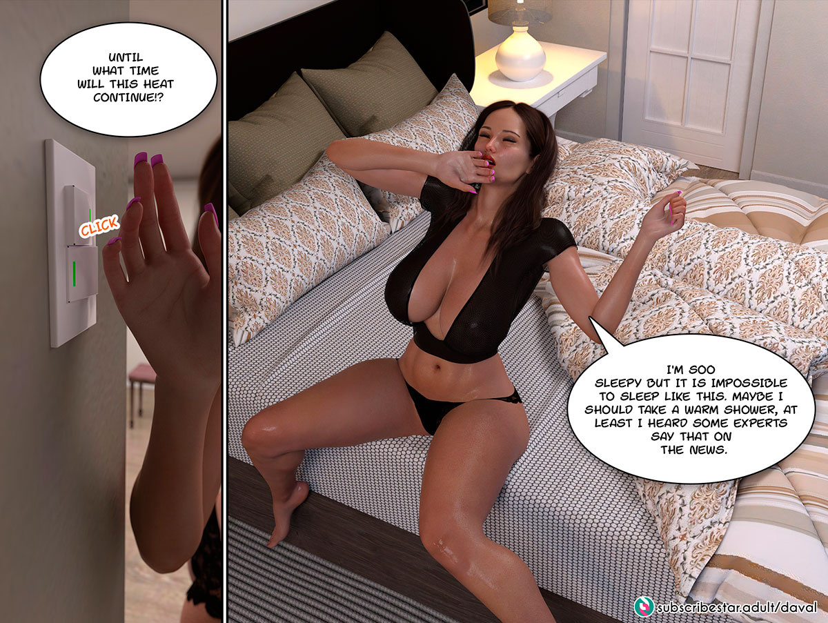 """Daval3D comic """"Satisfying Needs"""" - page 26"""