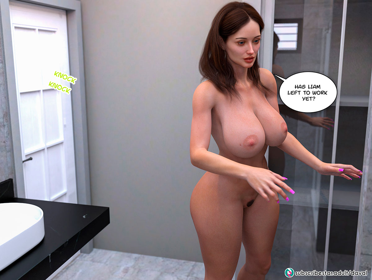 """Daval3D comic """"Satisfying Needs"""" - page 3"""