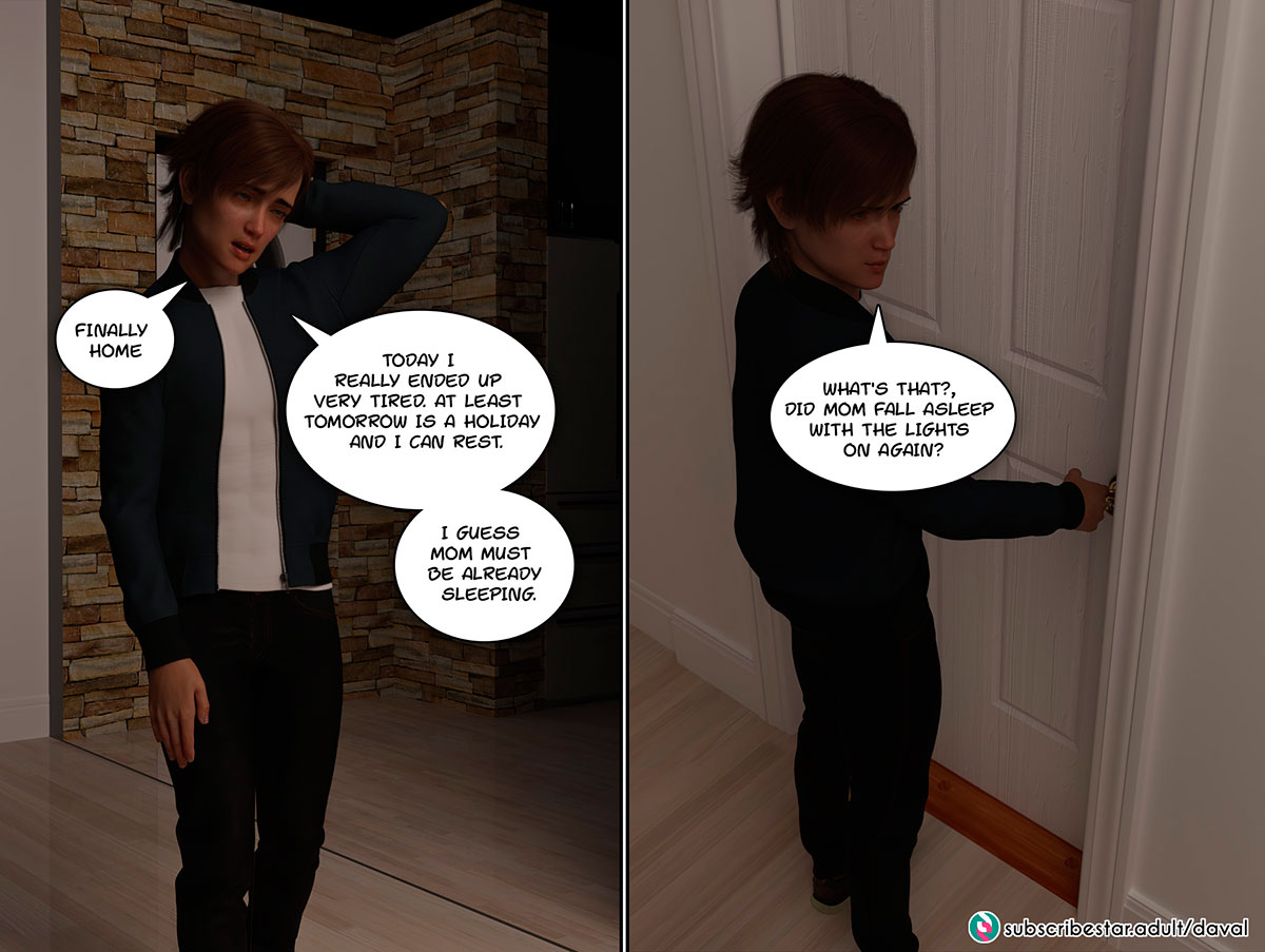 """Daval3D comic """"Satisfying Needs"""" - page 32"""