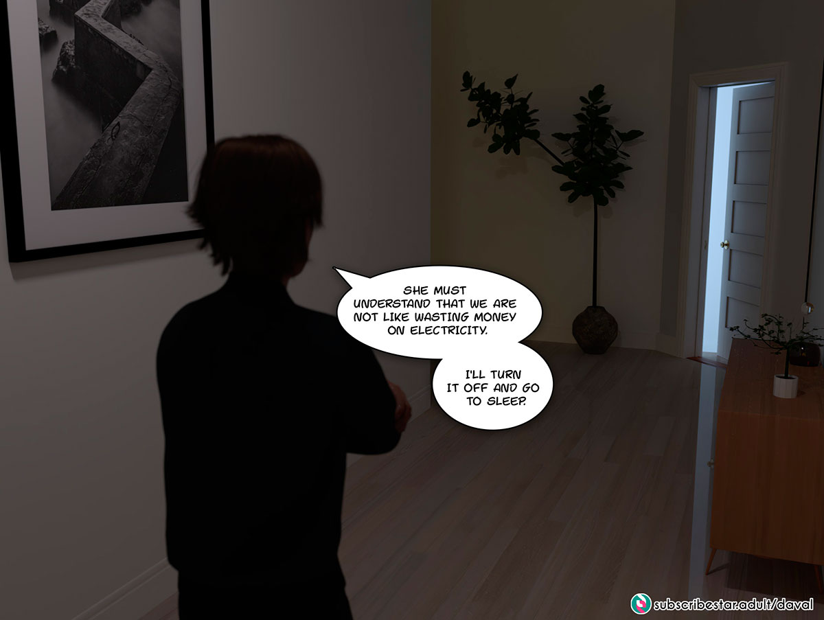 """Daval3D comic """"Satisfying Needs"""" - page 33"""