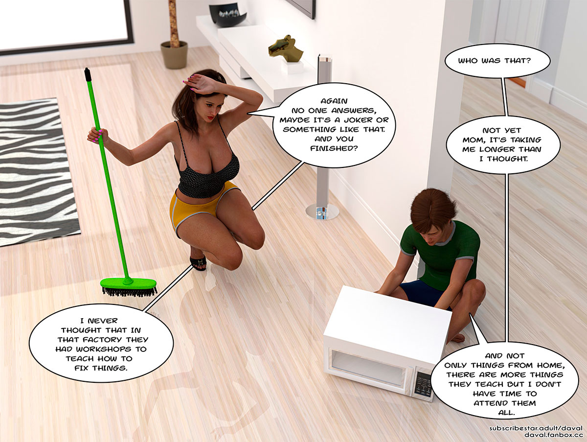"""Daval3D comic """"Satisfying Needs"""" - page 49"""