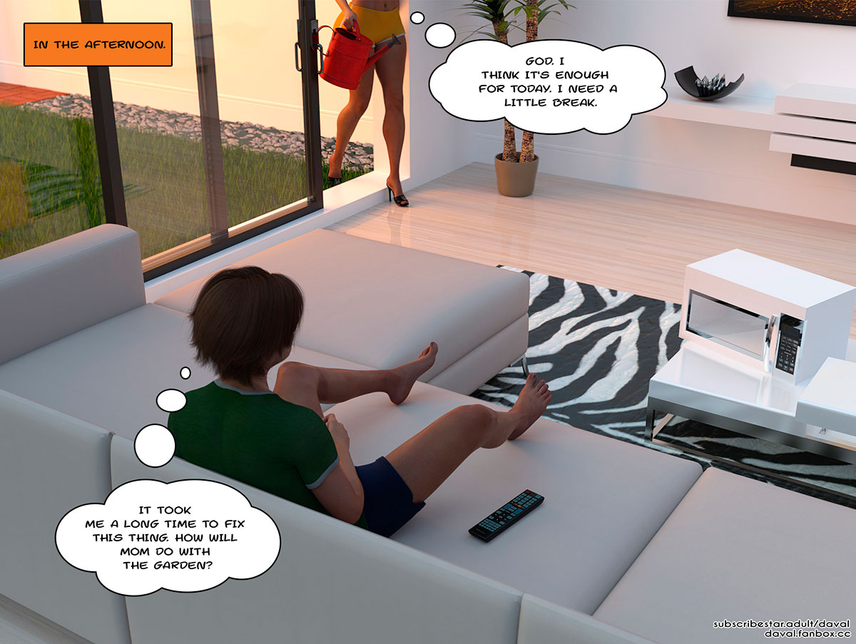 """Daval3D comic """"Satisfying Needs"""" - page 54"""