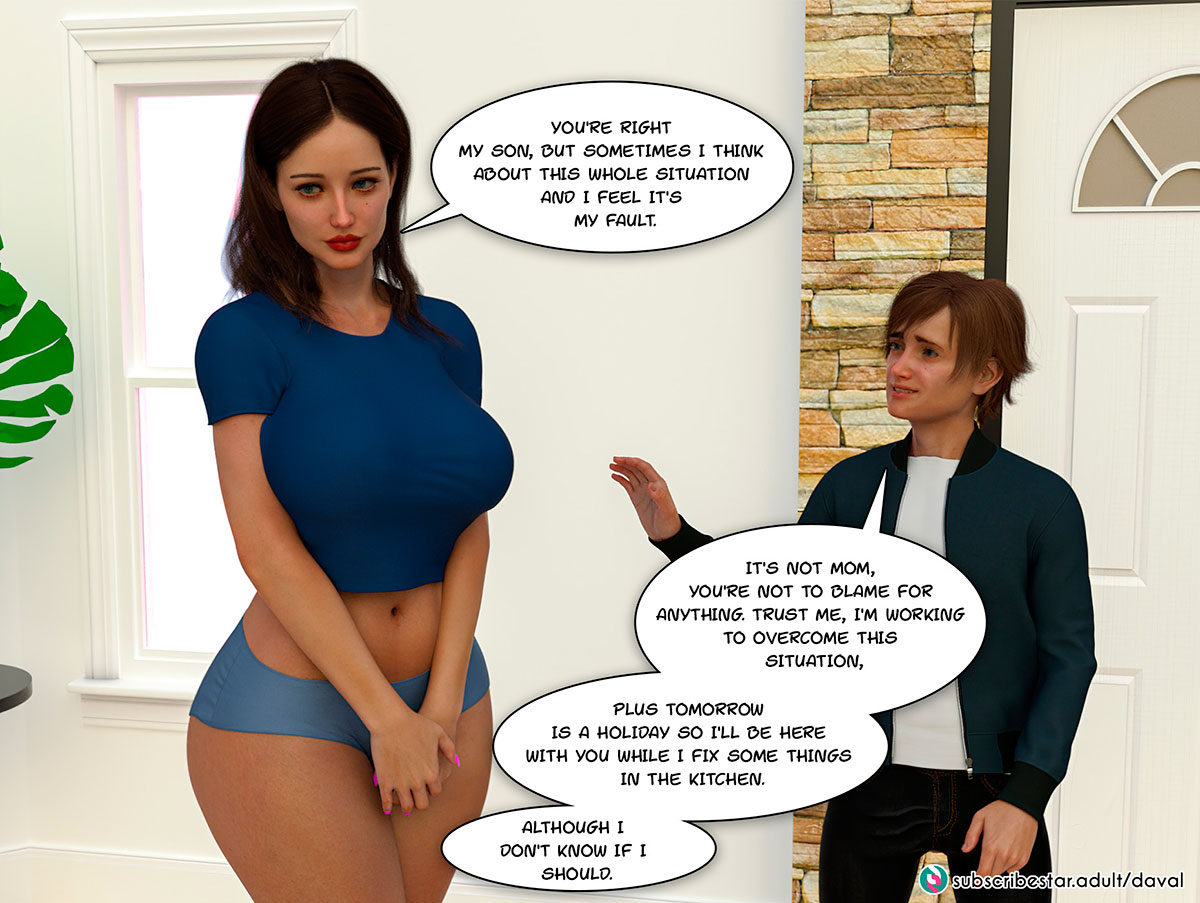 """Daval3D comic """"Satisfying Needs"""" - page 9"""