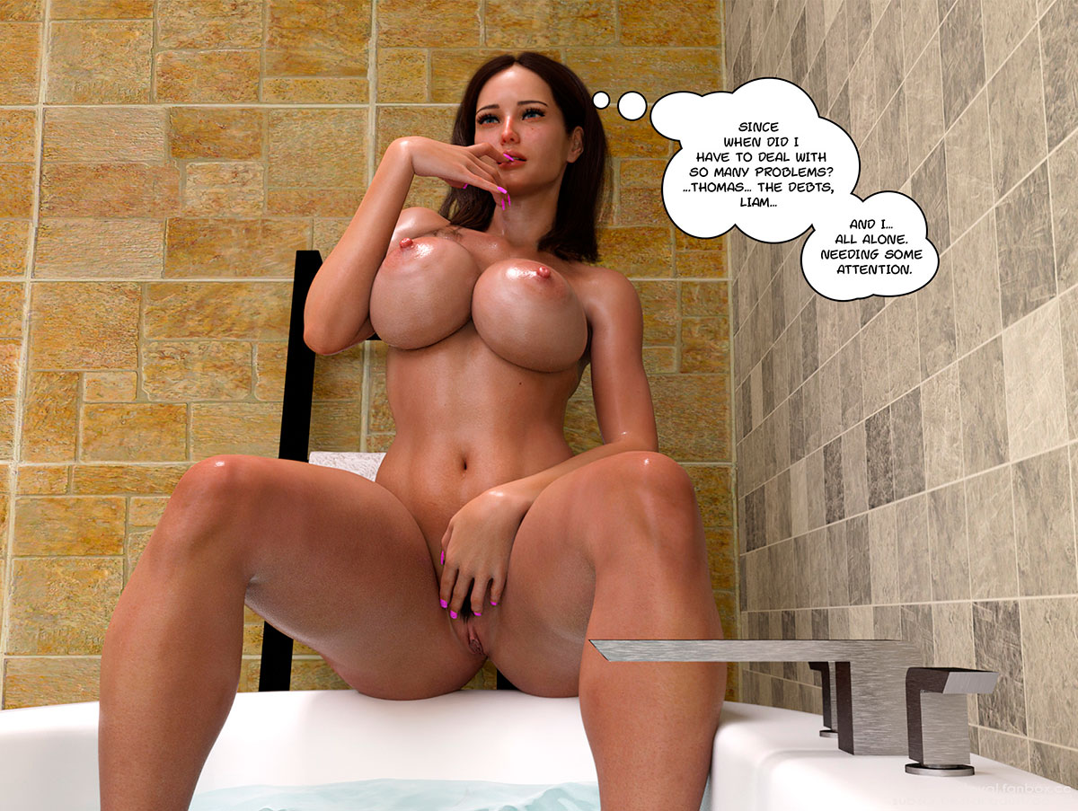 """Daval3D comic """"Satisfying Needs 2"""" - page 17"""