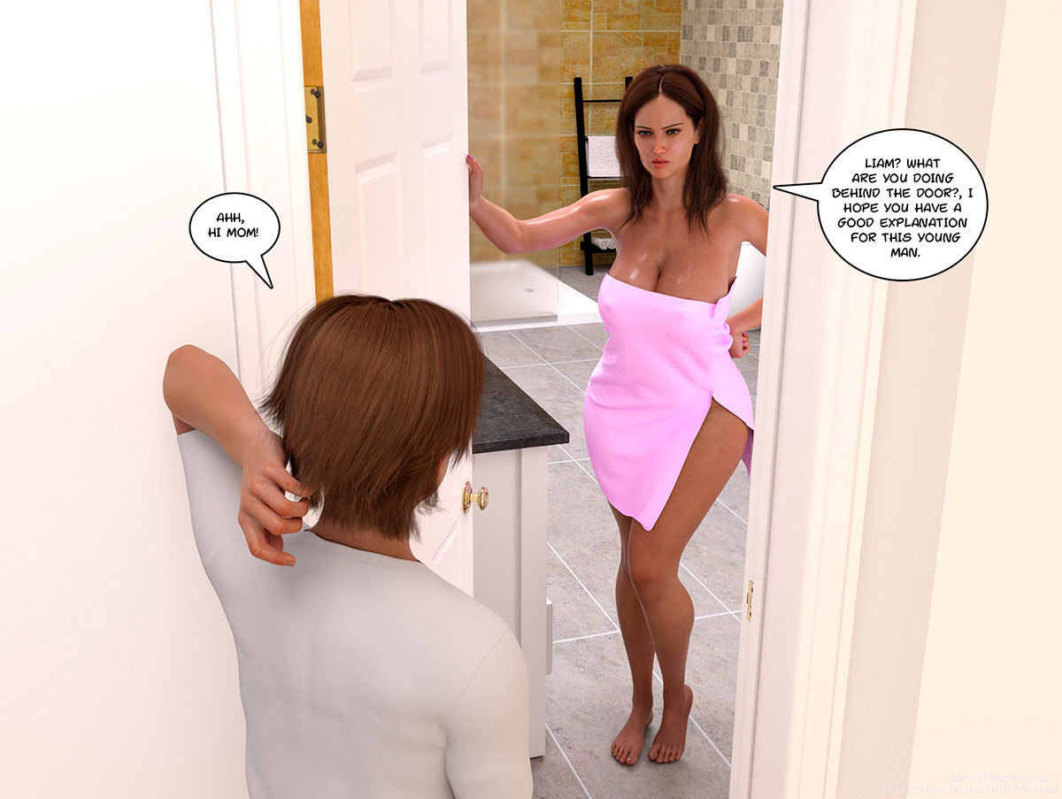 """Daval3D comic """"Satisfying Needs 2"""" - page 27"""