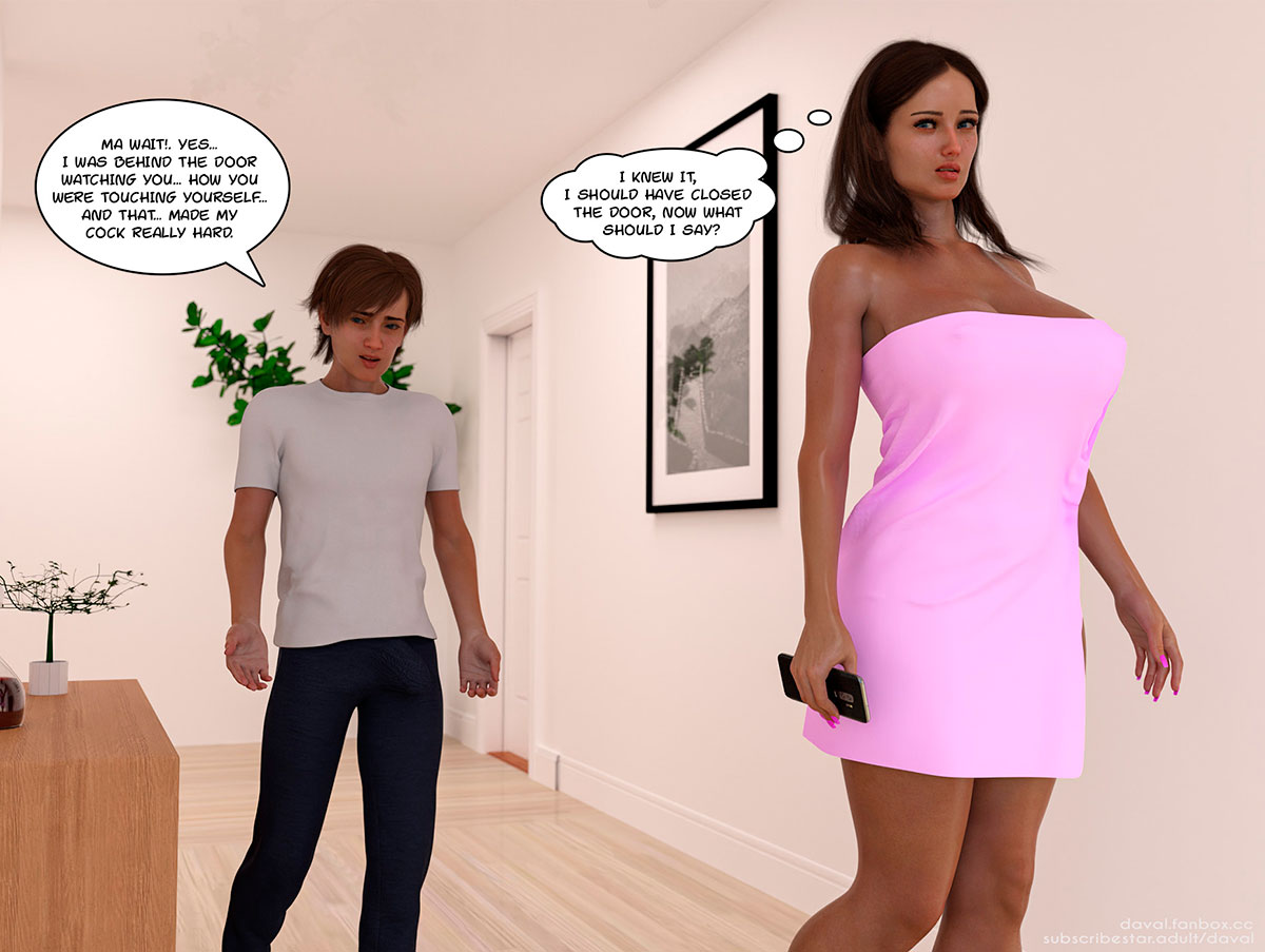 """Daval3D comic """"Satisfying Needs 2"""" - page 30"""