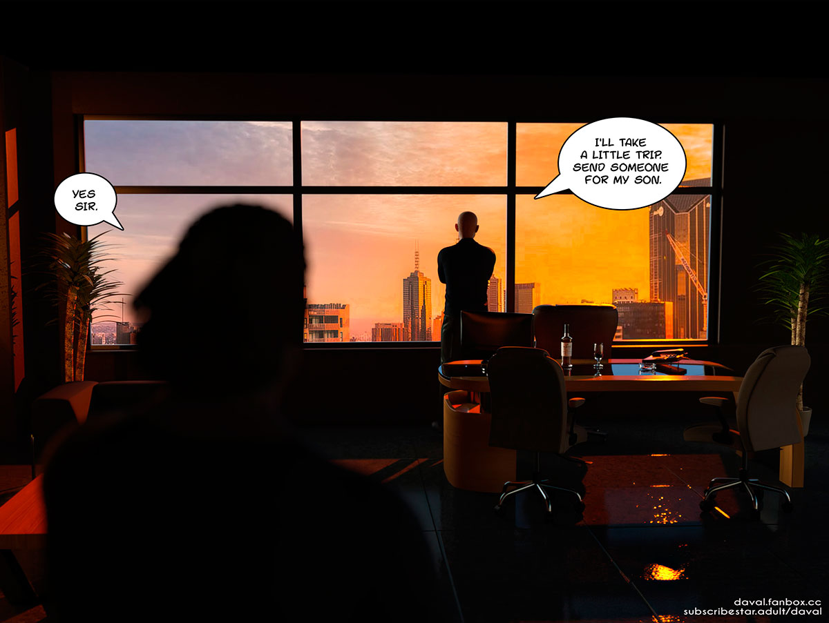 """Daval3D comic """"Satisfying Needs 2"""" - page 94"""