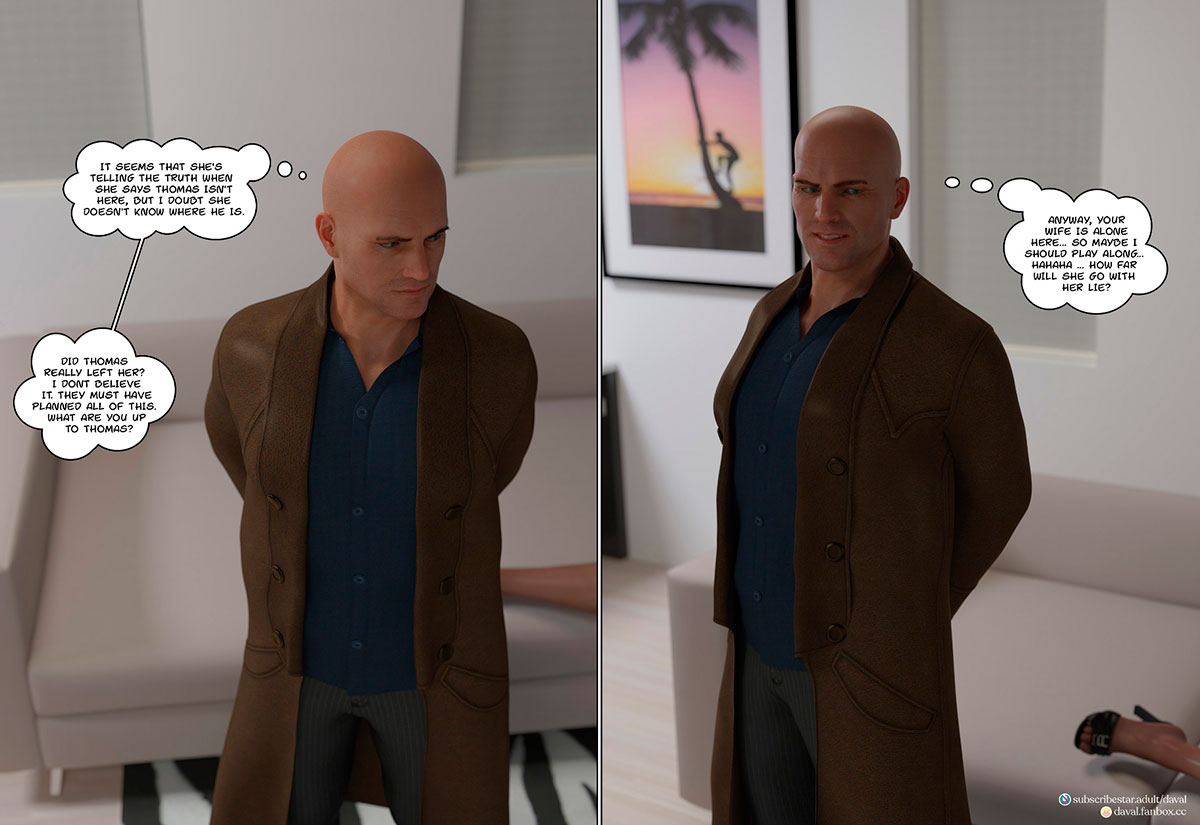 """Daval3D comic """"Satisfying Needs 3"""" - page 103"""