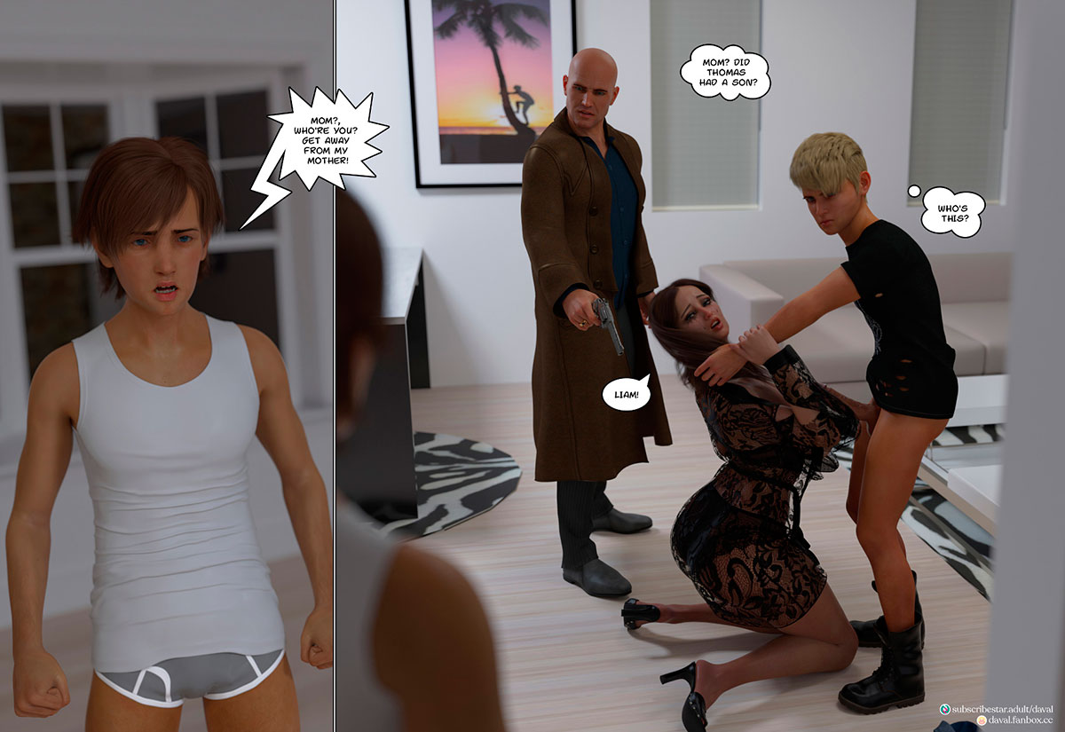 """Daval3D comic """"Satisfying Needs 3"""" - page 124"""
