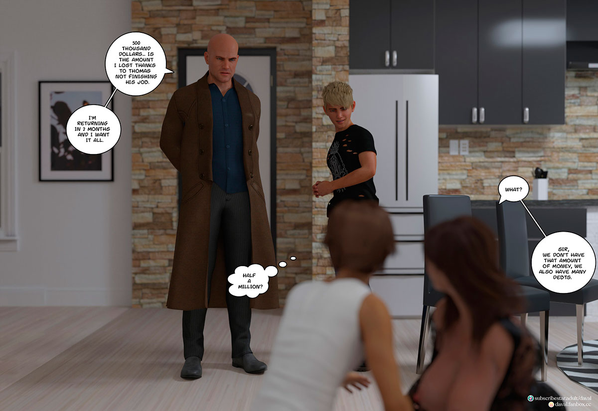 """Daval3D comic """"Satisfying Needs 3"""" - page 131"""