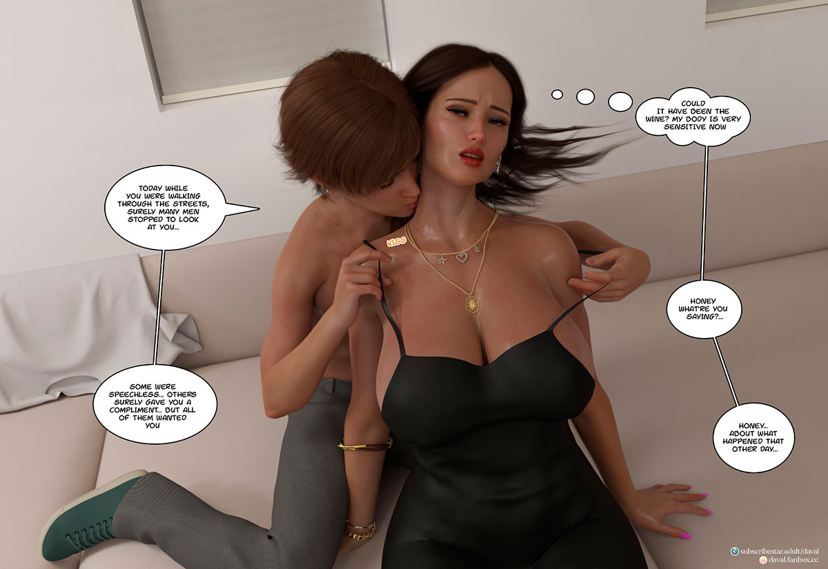 """Daval3D comic """"Satisfying Needs 3"""" - page 15"""