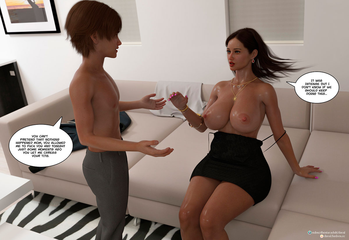 """Daval3D comic """"Satisfying Needs 3"""" - page 17"""