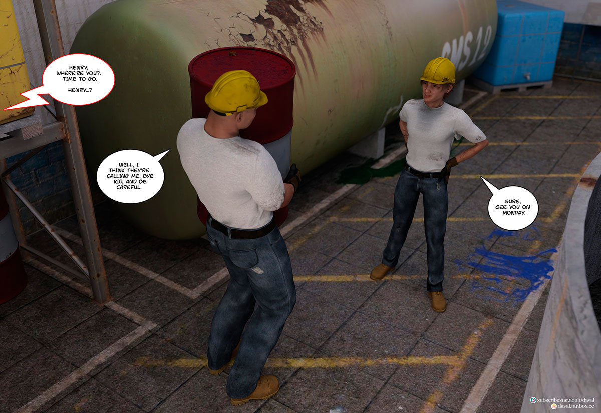 """Daval3D comic """"Satisfying Needs 3"""" - page 5"""