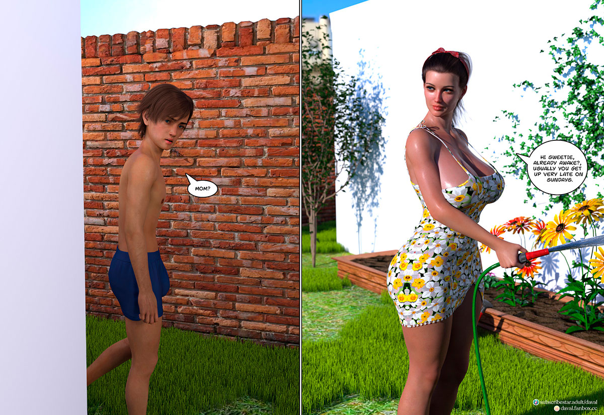 """Daval3D comic """"Satisfying Needs 3"""" - page 53"""