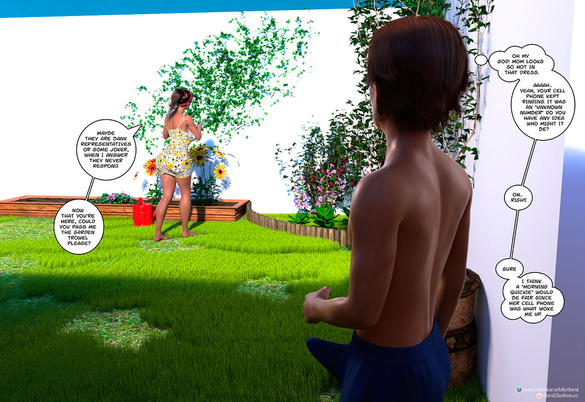 """Daval3D comic """"Satisfying Needs 3"""" - page 54"""