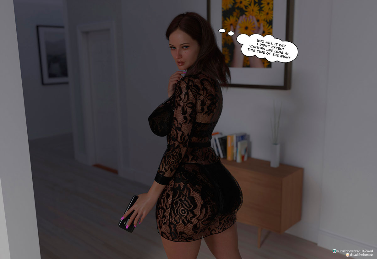 """Daval3D comic """"Satisfying Needs 3"""" - page 90"""