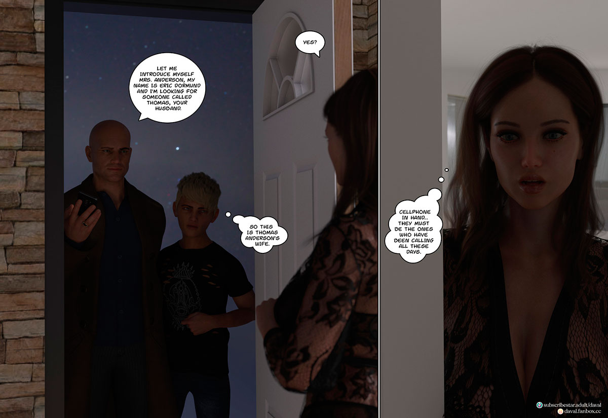 """Daval3D comic """"Satisfying Needs 3"""" - page 92"""
