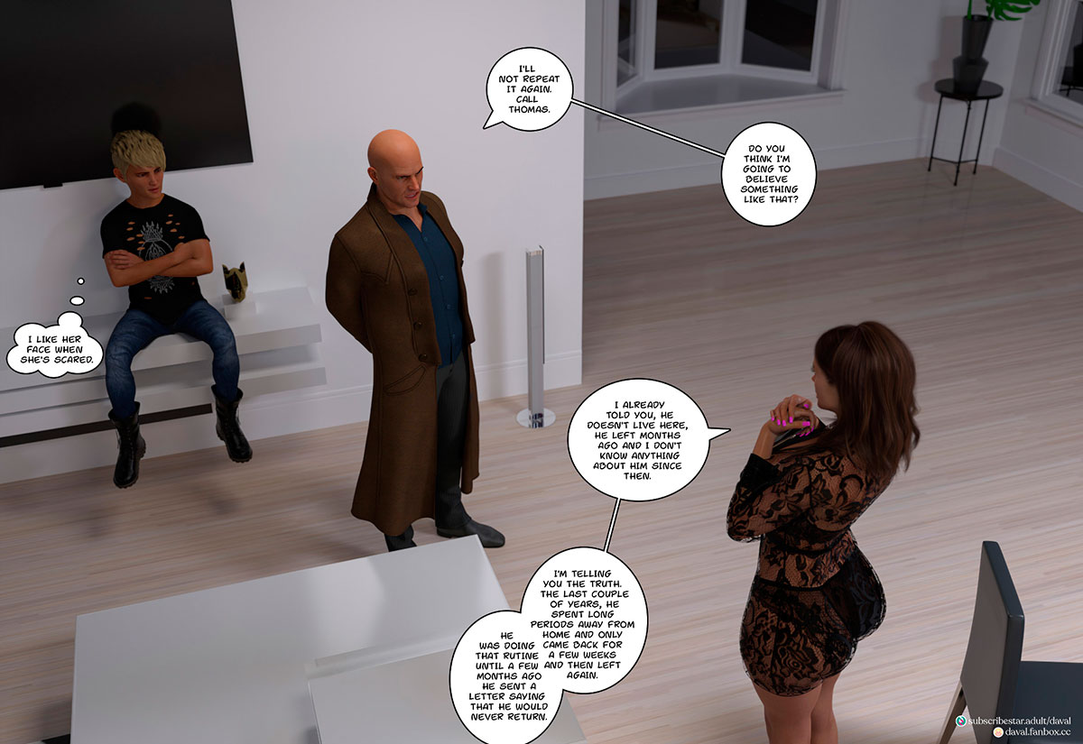 """Daval3D comic """"Satisfying Needs 3"""" - page 96"""