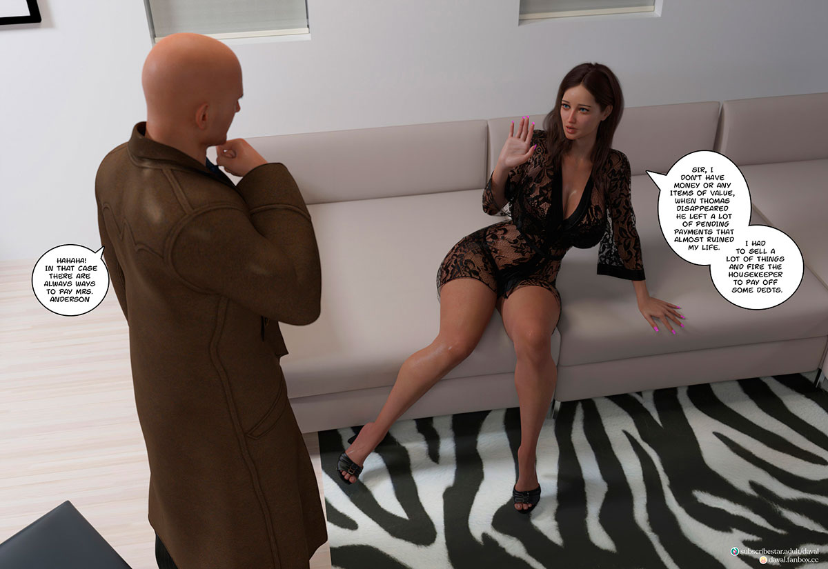 """Daval3D comic """"Satisfying Needs 3"""" - page 99"""